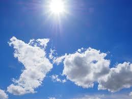 hot suny day