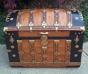 303-wooden-dometop-antique-trunk
